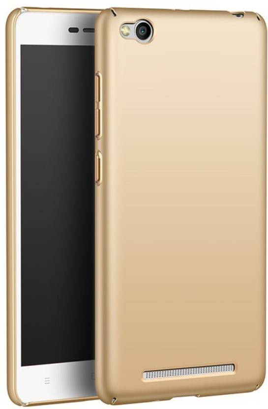 detailed look 664b2 92e41 Back Cover for Mi Redmi 3S (Golden)