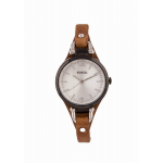Fossil Georgia Analog Silver Dial Women's Watch