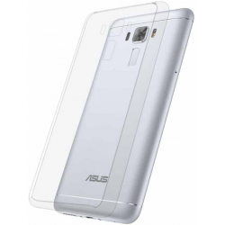 Back Cover for Asus Zenfone 3 Laser ZC551KL  (Transparent) (6 pieces)